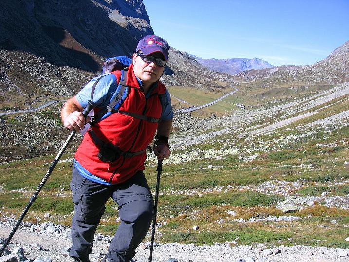 Foto: Andreas Koller / Wander Tour / Hoch über St. Moritz auf den Piz Julier (3380 m) / 07.10.2009 20:40:49