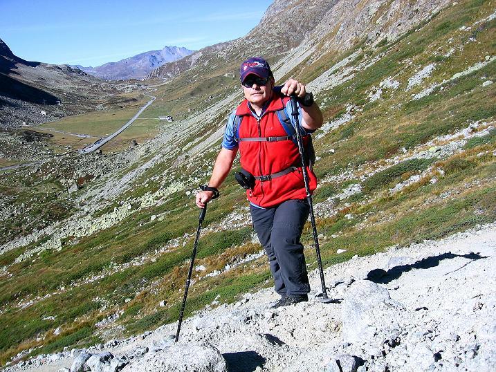 Foto: Andreas Koller / Wander Tour / Hoch über St. Moritz auf den Piz Julier (3380 m) / 07.10.2009 20:40:24