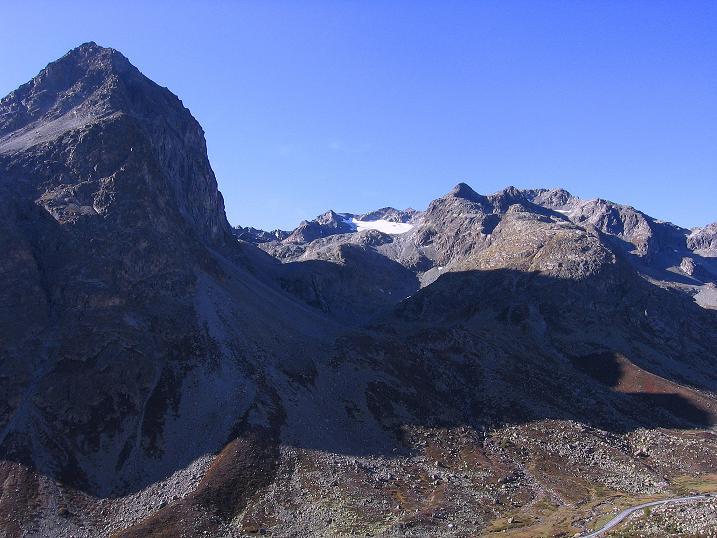 Foto: Andreas Koller / Wander Tour / Hoch über St. Moritz auf den Piz Julier (3380 m) / 07.10.2009 20:40:17