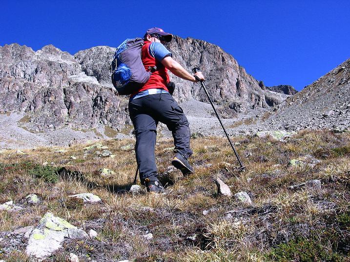 Foto: Andreas Koller / Wander Tour / Hoch über St. Moritz auf den Piz Julier (3380 m) / 07.10.2009 20:38:28