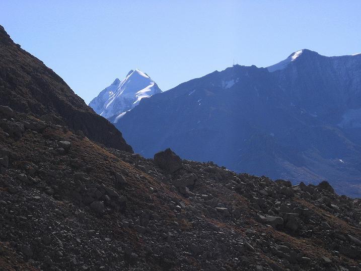 Foto: Andreas Koller / Wander Tour / Hoch über St. Moritz auf den Piz Julier (3380 m) / Piz Roseg (3937 m) / 07.10.2009 20:36:21