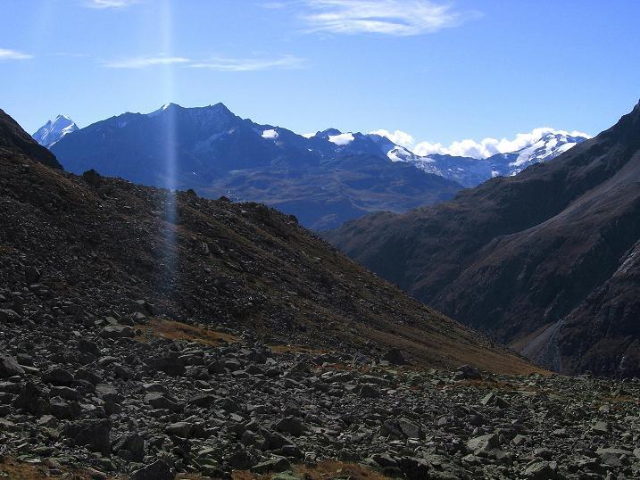 Foto: Andreas Koller / Wander Tour / Hoch über St. Moritz auf den Piz Julier (3380 m) / 07.10.2009 20:36:03
