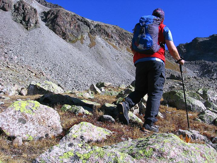Foto: Andreas Koller / Wander Tour / Hoch über St. Moritz auf den Piz Julier (3380 m) / 07.10.2009 20:35:54
