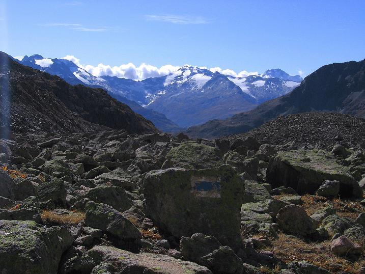 Foto: Andreas Koller / Wander Tour / Hoch über St. Moritz auf den Piz Julier (3380 m) / 07.10.2009 20:35:43