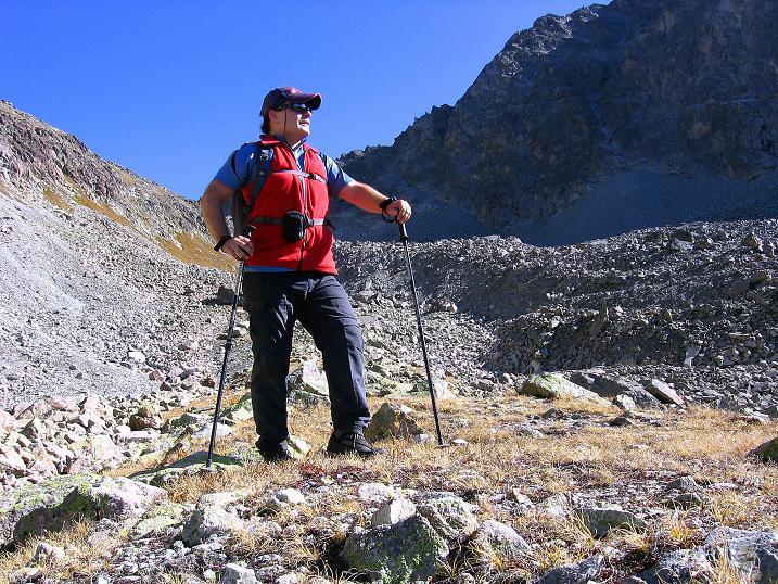 Foto: Andreas Koller / Wander Tour / Hoch über St. Moritz auf den Piz Julier (3380 m) / 07.10.2009 20:35:31