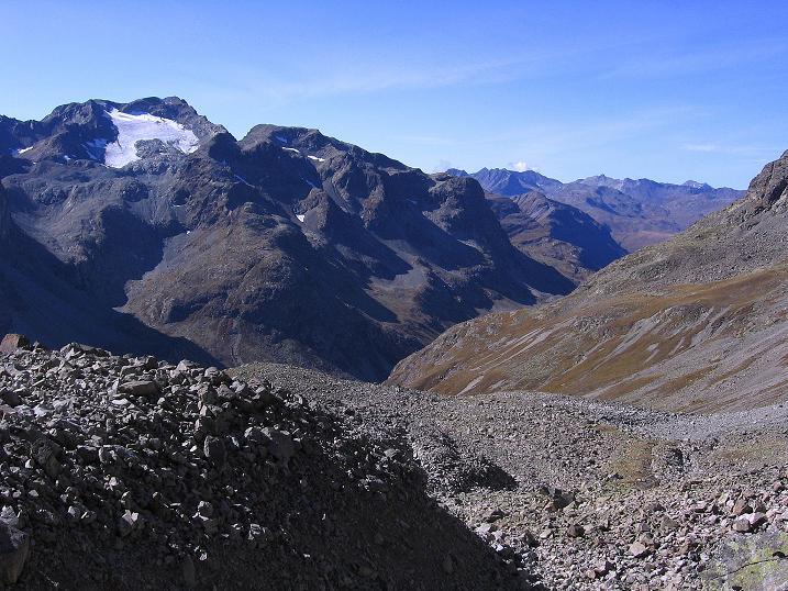 Foto: Andreas Koller / Wander Tour / Hoch über St. Moritz auf den Piz Julier (3380 m) / 07.10.2009 20:35:20