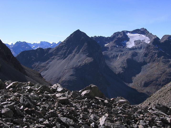 Foto: Andreas Koller / Wander Tour / Hoch über St. Moritz auf den Piz Julier (3380 m) / 07.10.2009 20:33:22