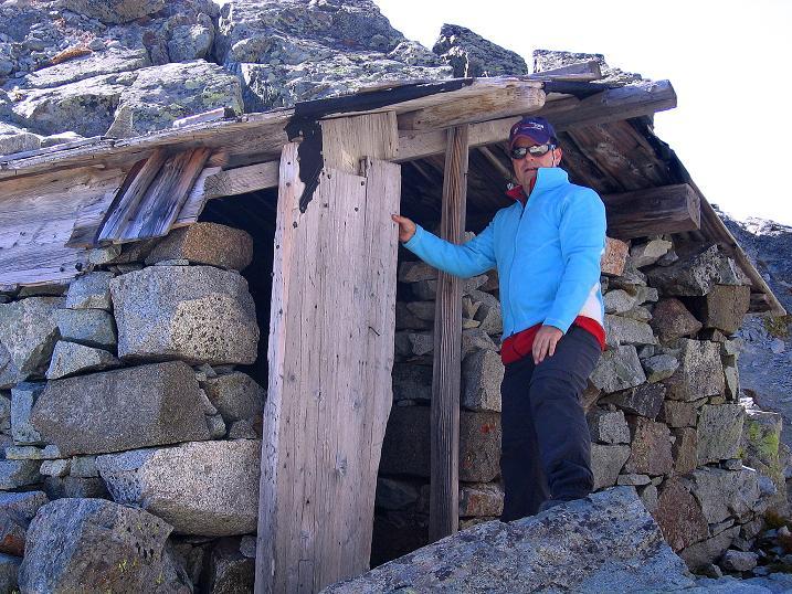 Foto: Andreas Koller / Wander Tour / Hoch über St. Moritz auf den Piz Julier (3380 m) / Notbiwak in der Fuorcla Albana / 07.10.2009 20:32:03