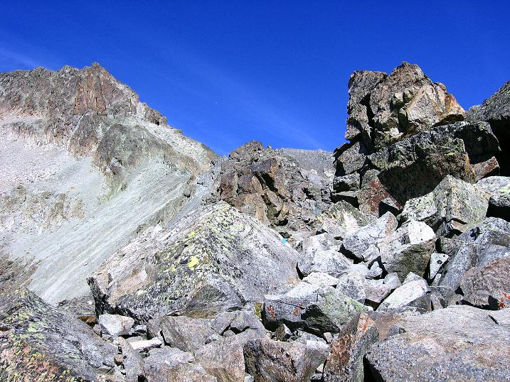 Foto: Andreas Koller / Wander Tour / Hoch über St. Moritz auf den Piz Julier (3380 m) / SO-Grat / 07.10.2009 20:31:18
