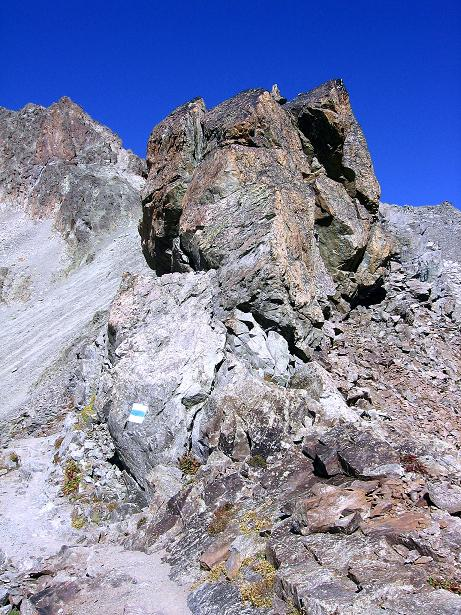 Foto: Andreas Koller / Wander Tour / Hoch über St. Moritz auf den Piz Julier (3380 m) / 07.10.2009 20:29:59