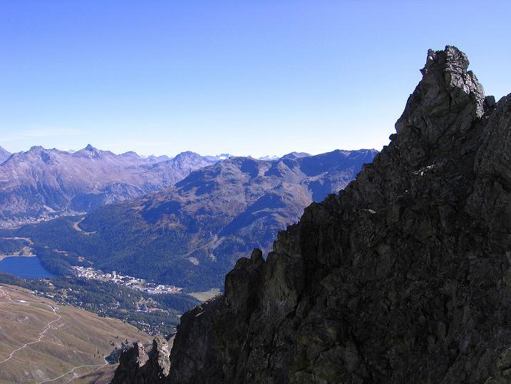 Foto: Andreas Koller / Wander Tour / Hoch über St. Moritz auf den Piz Julier (3380 m) / 07.10.2009 20:29:49