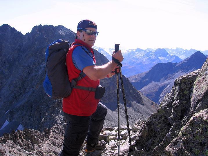 Foto: Andreas Koller / Wander Tour / Hoch über St. Moritz auf den Piz Julier (3380 m) / 07.10.2009 20:28:57
