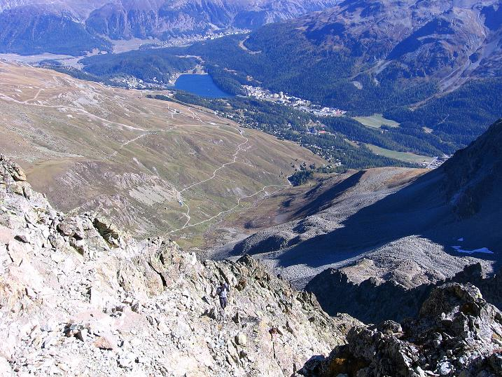 Foto: Andreas Koller / Wander Tour / Hoch über St. Moritz auf den Piz Julier (3380 m) / 07.10.2009 20:26:51