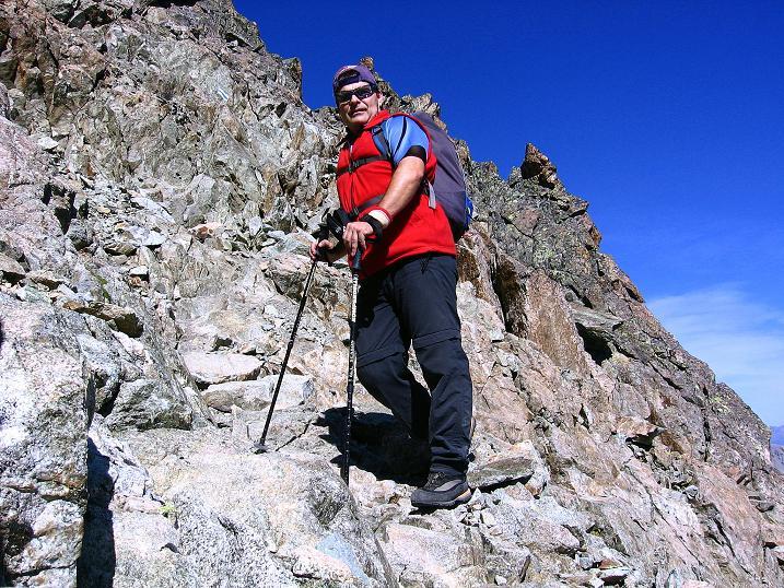 Foto: Andreas Koller / Wander Tour / Hoch über St. Moritz auf den Piz Julier (3380 m) / 07.10.2009 20:26:40