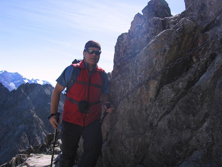 Foto: Andreas Koller / Wander Tour / Hoch über St. Moritz auf den Piz Julier (3380 m) / 07.10.2009 20:26:29