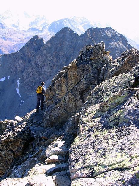 Foto: Andreas Koller / Wander Tour / Hoch über St. Moritz auf den Piz Julier (3380 m) / 07.10.2009 20:26:05