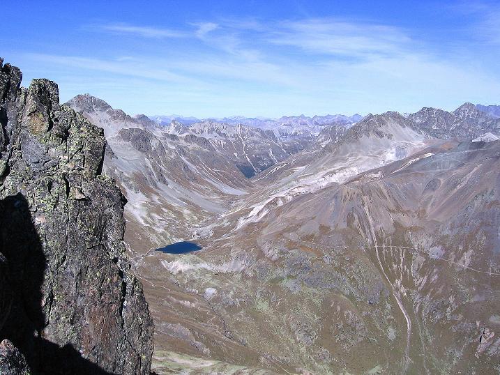 Foto: Andreas Koller / Wander Tour / Hoch über St. Moritz auf den Piz Julier (3380 m) / 07.10.2009 20:25:35