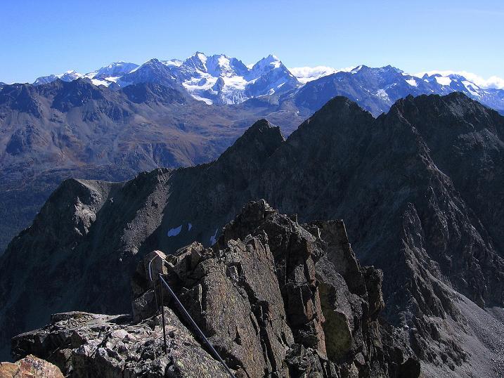 Foto: Andreas Koller / Wander Tour / Hoch über St. Moritz auf den Piz Julier (3380 m) / 07.10.2009 20:25:26