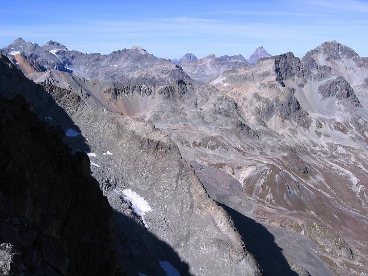 Foto: Andreas Koller / Wander Tour / Hoch über St. Moritz auf den Piz Julier (3380 m) / 07.10.2009 20:25:18