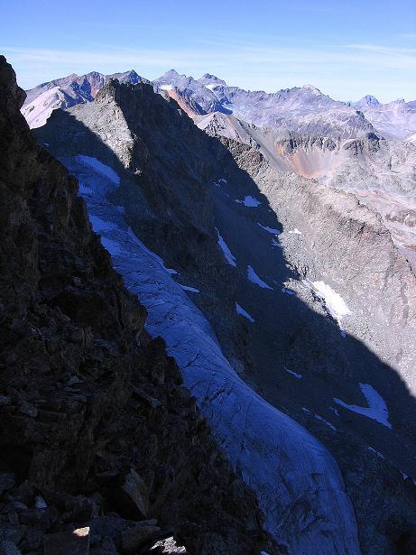 Foto: Andreas Koller / Wander Tour / Hoch über St. Moritz auf den Piz Julier (3380 m) / 07.10.2009 20:24:22