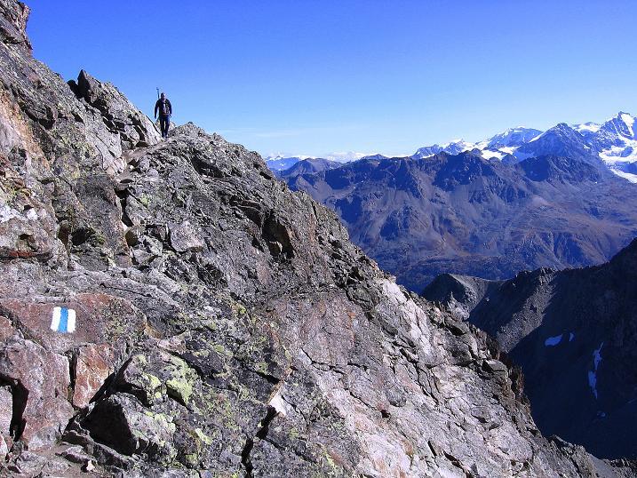 Foto: Andreas Koller / Wander Tour / Hoch über St. Moritz auf den Piz Julier (3380 m) / 07.10.2009 20:24:14
