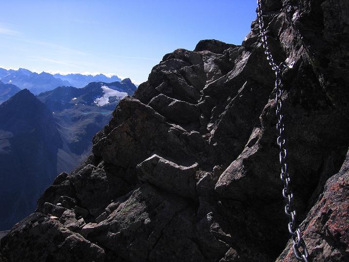 Foto: Andreas Koller / Wander Tour / Hoch über St. Moritz auf den Piz Julier (3380 m) / 07.10.2009 20:23:47