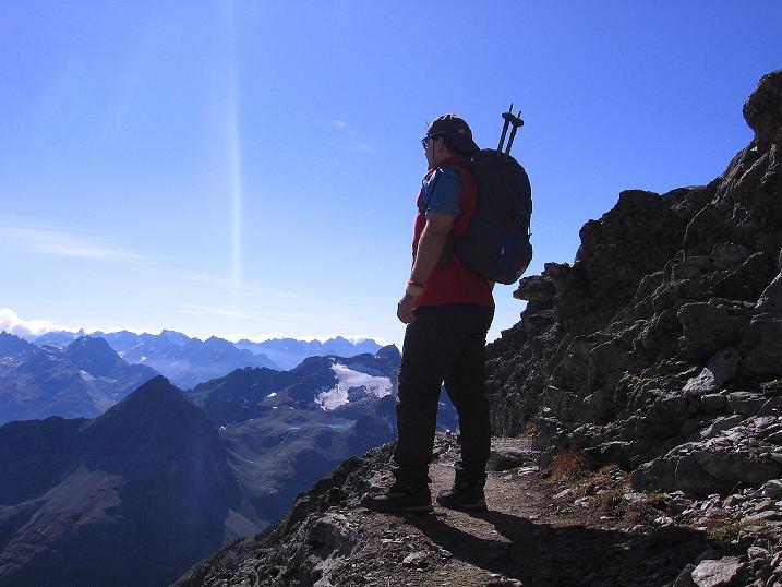 Foto: Andreas Koller / Wander Tour / Hoch über St. Moritz auf den Piz Julier (3380 m) / 07.10.2009 20:22:58
