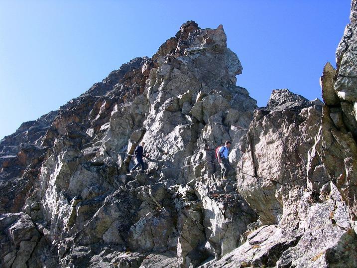 Foto: Andreas Koller / Wander Tour / Hoch über St. Moritz auf den Piz Julier (3380 m) / 07.10.2009 20:21:58