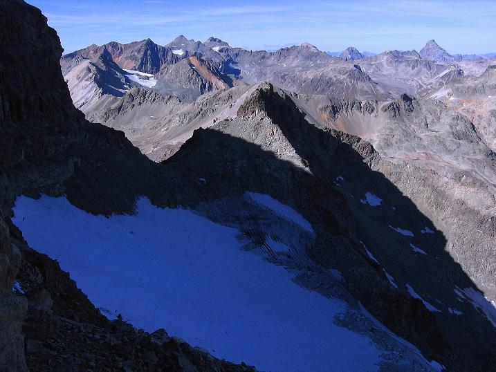 Foto: Andreas Koller / Wander Tour / Hoch über St. Moritz auf den Piz Julier (3380 m) / 07.10.2009 20:21:33