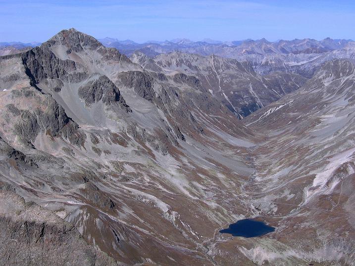 Foto: Andreas Koller / Wander Tour / Hoch über St. Moritz auf den Piz Julier (3380 m) / 07.10.2009 20:21:11