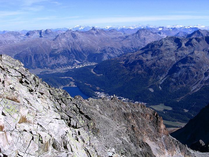 Foto: Andreas Koller / Wander Tour / Hoch über St. Moritz auf den Piz Julier (3380 m) / 07.10.2009 20:20:51