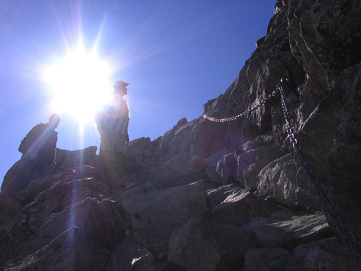 Foto: Andreas Koller / Wander Tour / Hoch über St. Moritz auf den Piz Julier (3380 m) / 07.10.2009 20:20:41