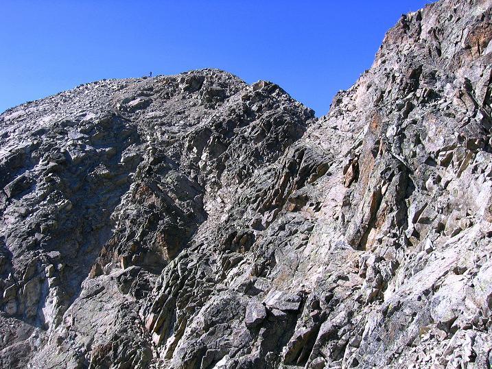 Foto: Andreas Koller / Wander Tour / Hoch über St. Moritz auf den Piz Julier (3380 m) / 07.10.2009 20:19:37
