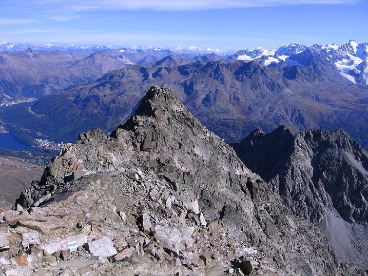 Foto: Andreas Koller / Wander Tour / Hoch über St. Moritz auf den Piz Julier (3380 m) / 07.10.2009 20:18:09