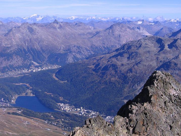 Foto: Andreas Koller / Wander Tour / Hoch über St. Moritz auf den Piz Julier (3380 m) / 07.10.2009 20:17:34
