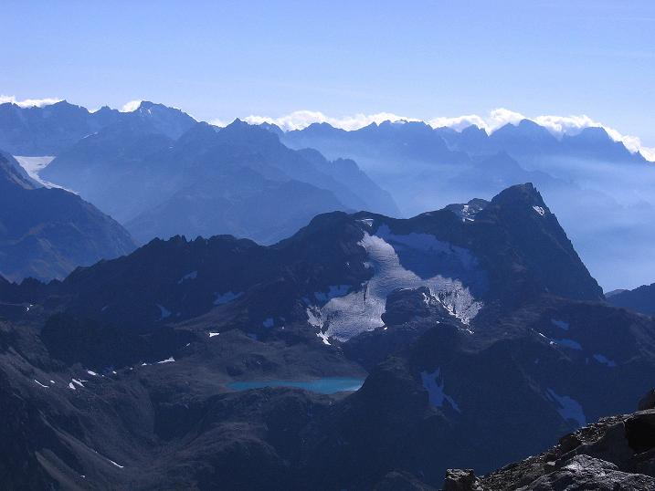 Foto: Andreas Koller / Wander Tour / Hoch über St. Moritz auf den Piz Julier (3380 m) / 07.10.2009 20:15:59