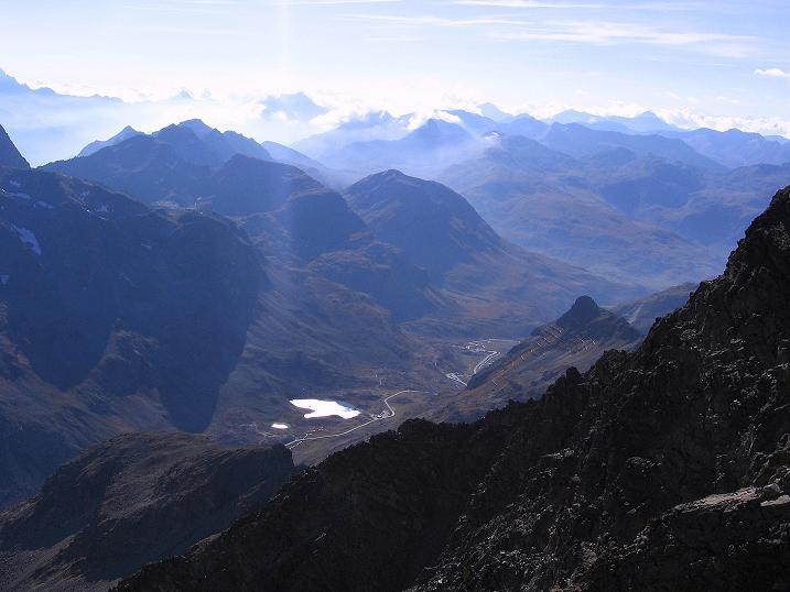 Foto: Andreas Koller / Wander Tour / Hoch über St. Moritz auf den Piz Julier (3380 m) / 07.10.2009 20:15:35
