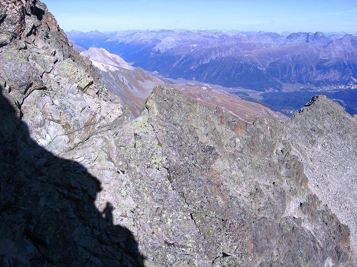 Foto: Andreas Koller / Wander Tour / Hoch über St. Moritz auf den Piz Julier (3380 m) / 07.10.2009 20:14:50