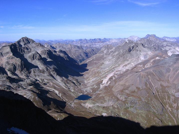Foto: Andreas Koller / Wander Tour / Hoch über St. Moritz auf den Piz Julier (3380 m) / 07.10.2009 20:14:30