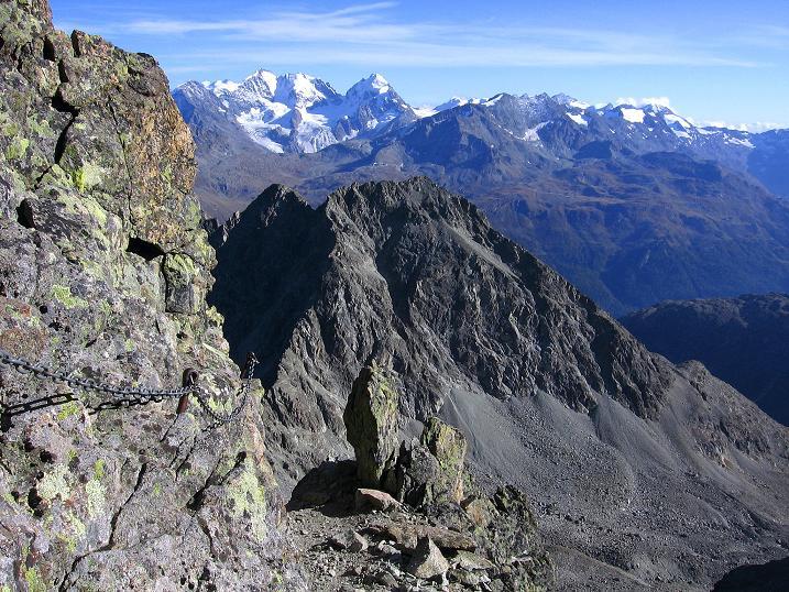 Foto: Andreas Koller / Wander Tour / Hoch über St. Moritz auf den Piz Julier (3380 m) / 07.10.2009 20:14:11