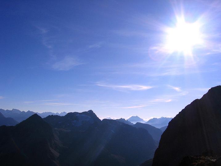 Foto: Andreas Koller / Wander Tour / Hoch über St. Moritz auf den Piz Julier (3380 m) / 07.10.2009 20:13:44