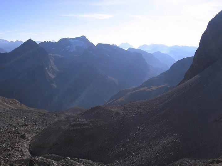 Foto: Andreas Koller / Wander Tour / Hoch über St. Moritz auf den Piz Julier (3380 m) / 07.10.2009 20:13:17