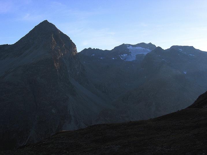 Foto: Andreas Koller / Wander Tour / Hoch über St. Moritz auf den Piz Julier (3380 m) / 07.10.2009 20:12:51