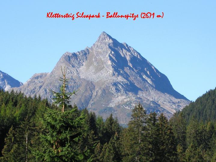 Foto: Andreas Koller / Klettersteig Tour / Klettersteig Silvapark (2671 m) / 10.10.2009 14:44:04