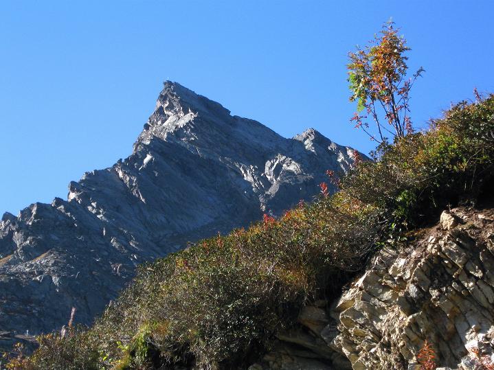 Foto: Andreas Koller / Klettersteig Tour / Klettersteig Silvapark (2671 m) / Ballunspitze / 10.10.2009 14:43:48