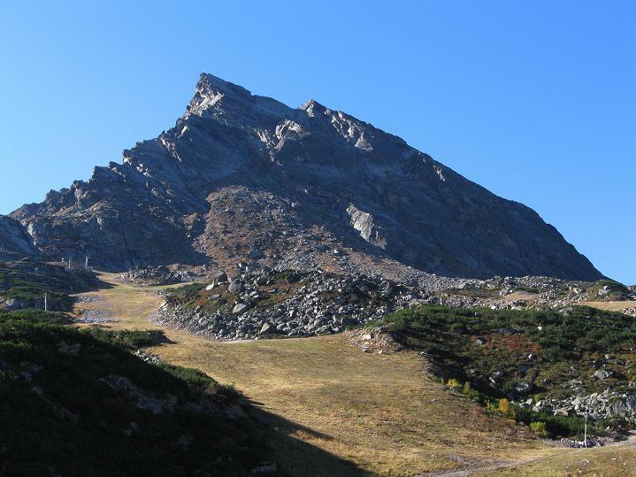 Foto: Andreas Koller / Klettersteig Tour / Klettersteig Silvapark (2671 m) / 10.10.2009 14:43:30