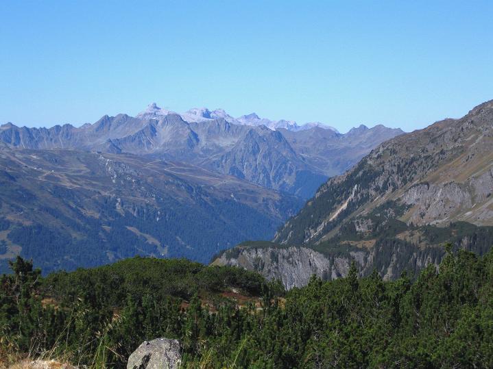 Foto: Andreas Koller / Klettersteig Tour / Klettersteig Silvapark (2671 m) / 10.10.2009 14:42:59