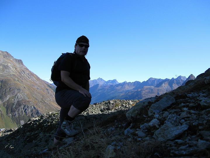 Foto: Andreas Koller / Klettersteig Tour / Klettersteig Silvapark (2671 m) / 10.10.2009 14:41:50