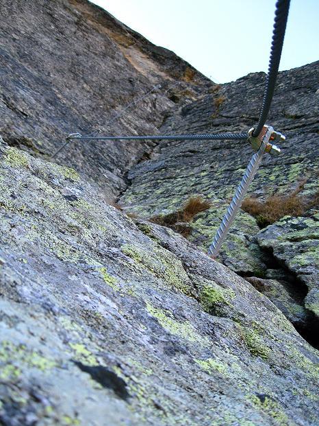 Foto: Andreas Koller / Klettersteig Tour / Klettersteig Silvapark (2671 m) / 10.10.2009 14:41:05