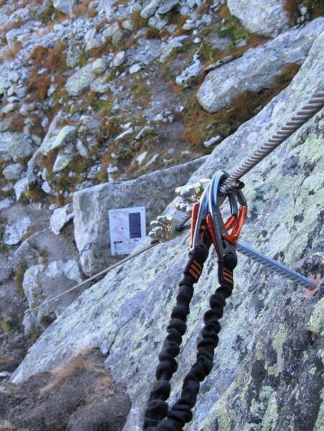 Foto: Andreas Koller / Klettersteig Tour / Klettersteig Silvapark (2671 m) / 10.10.2009 14:40:32